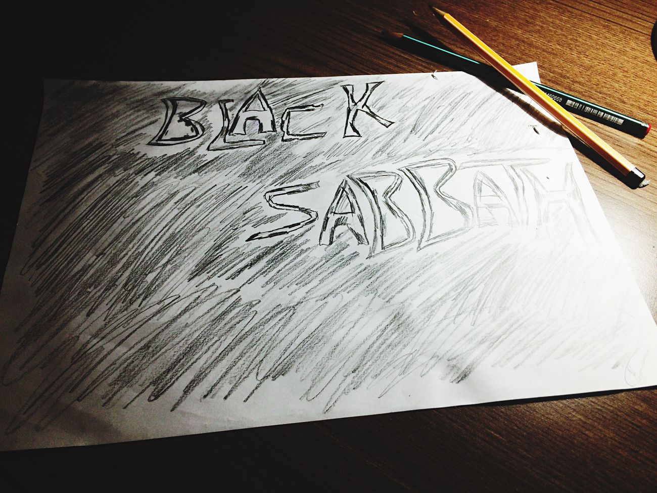 Blacksabbath Drawings Single Object