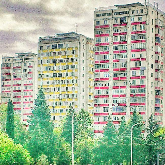 Newsides Tbilisi Colors Colorful Colour Hello World Georgianrepublic Building BuildingPorn Buildinglover #