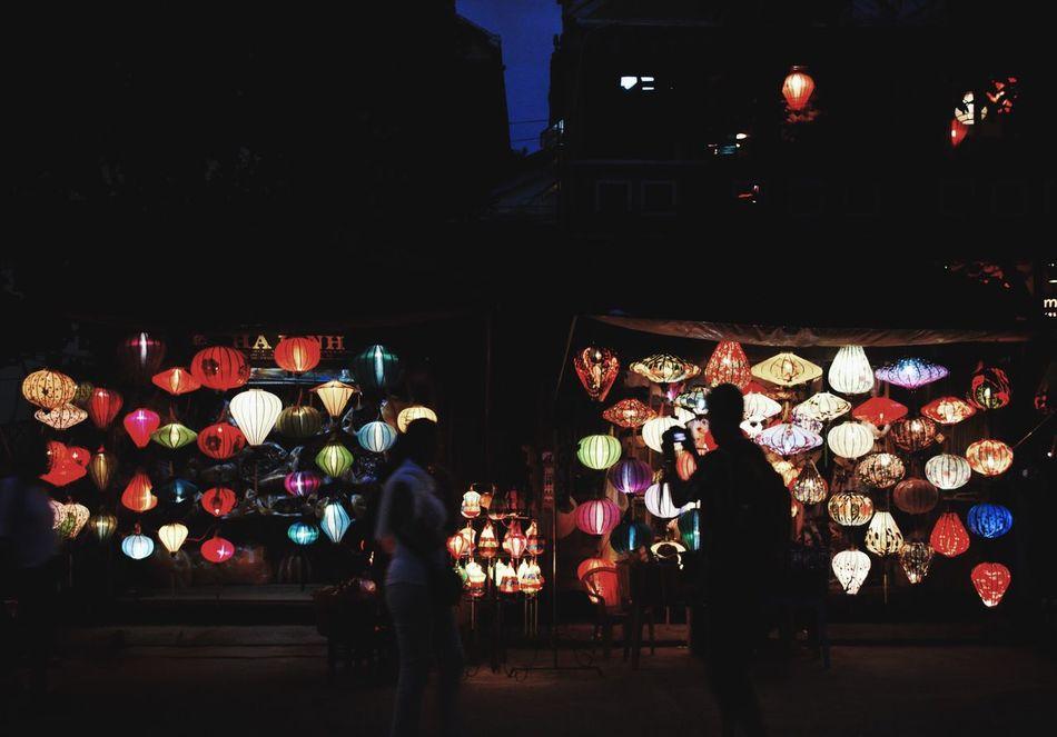 Hoi An, Vietnam Break The Mold Night Lantern Illuminated Vietnam Hoian, Vietnam Hoi An Standing HoiAnancienttown Light And Shadow Light Shadows & Lights