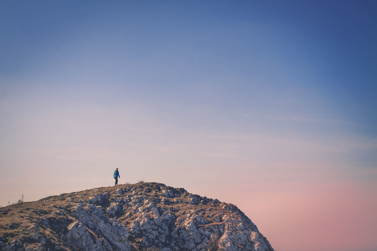 Beautiful stock photos of nature, Adventure, Beauty In Nature, Clear Sky, Cliff