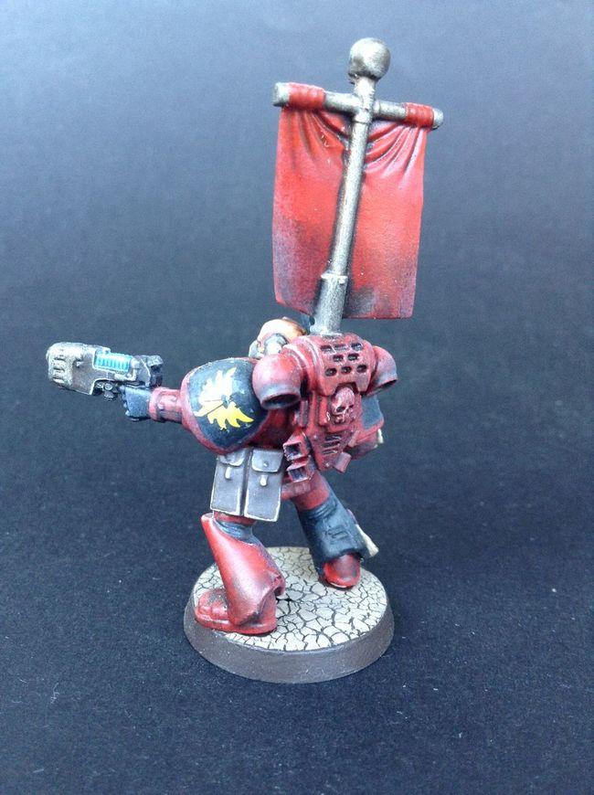 Blood Angels Missile Launcher Plasmagun Sergeant Tactical Squad Warhammer Warhammer40k