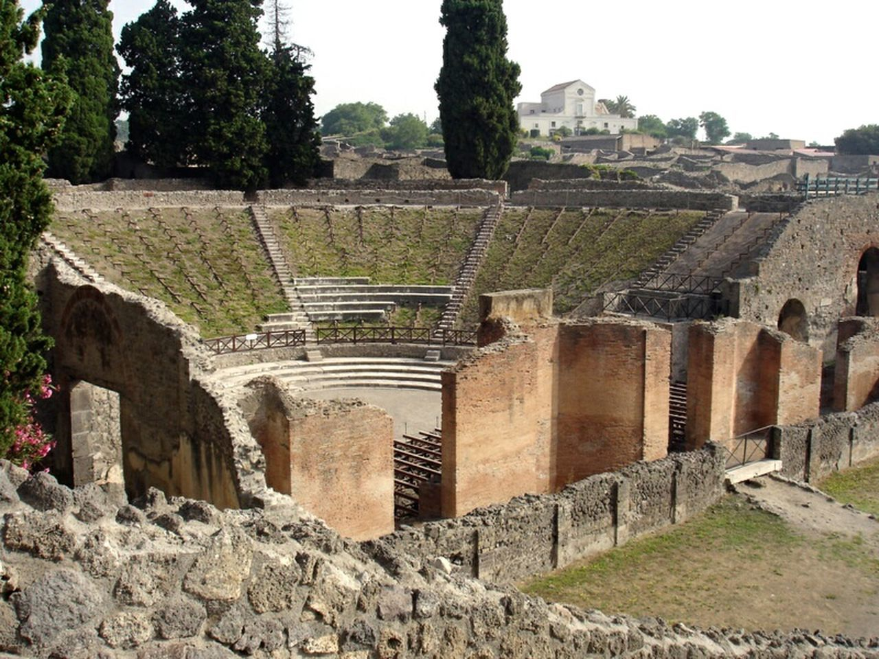 Ancient + Modern Live Side By Side | Amphitheater | Pompeii  | Italy | Vesuvius | Travel | This Week On Eyeem