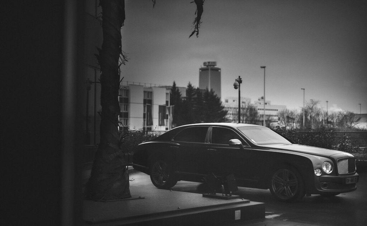 Luxury Blackandwhite Car Mood March Paris Bentley Hidden Big Car
