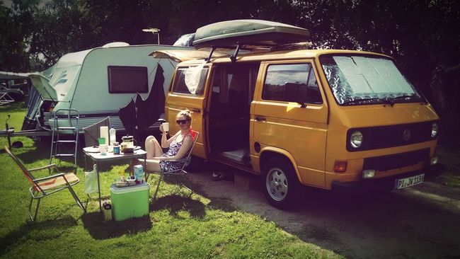 Camping! Bulli VWbus