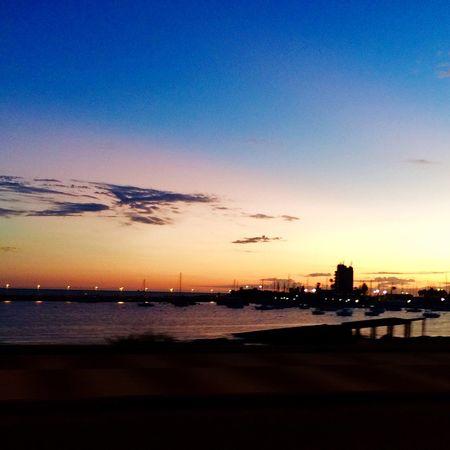 Atardecer en la ciudad Montevideo Uruguay Latinoamerica Iphone5s Photography Greatmoments Sunshine
