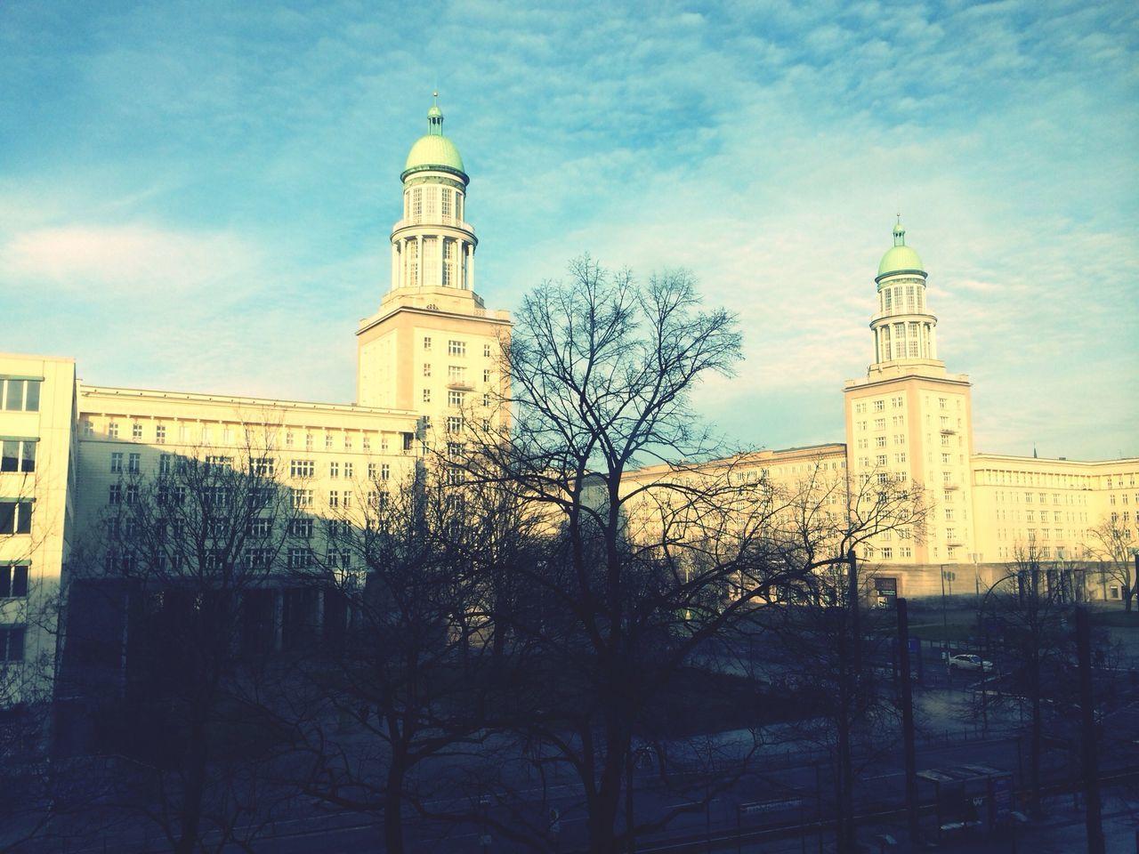 Beautiful stock photos of berlin, Architecture, Bare Tree, Berlin, Building Exterior