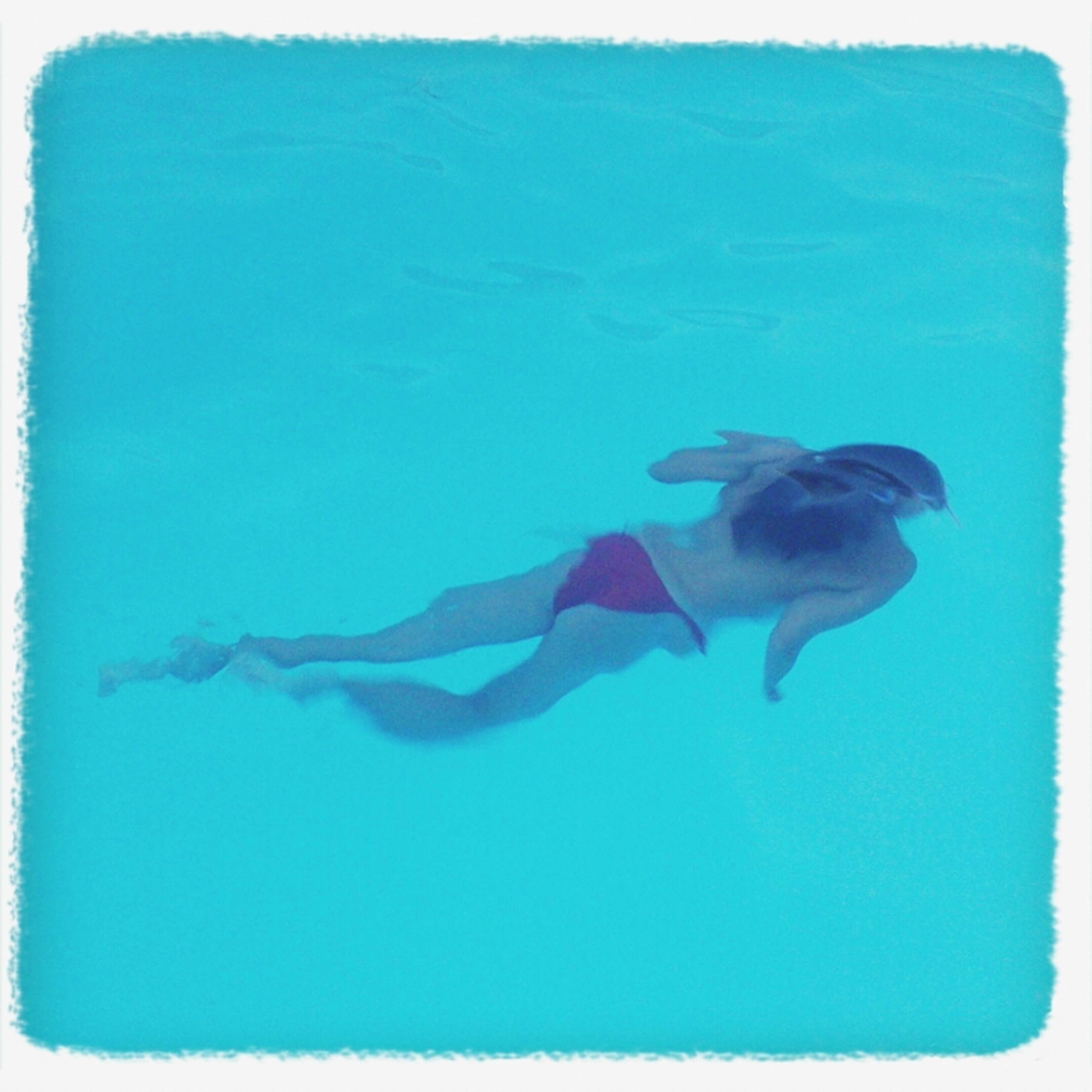Late Swimming Blue