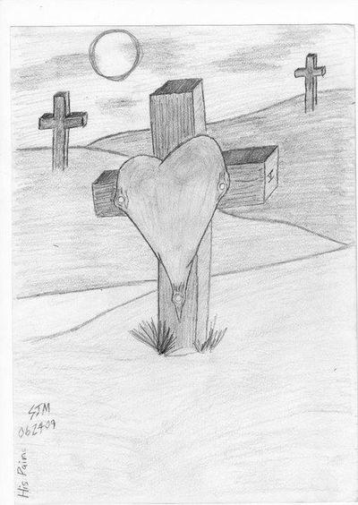 Heartbroken Hedlite Art Pencil Sketch  Religion