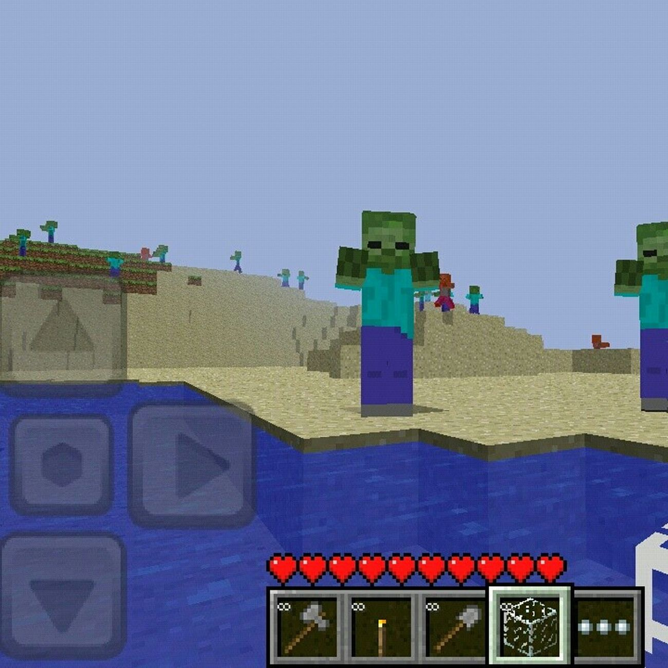 #zombies #mob #minecraft #pe #bored #lol