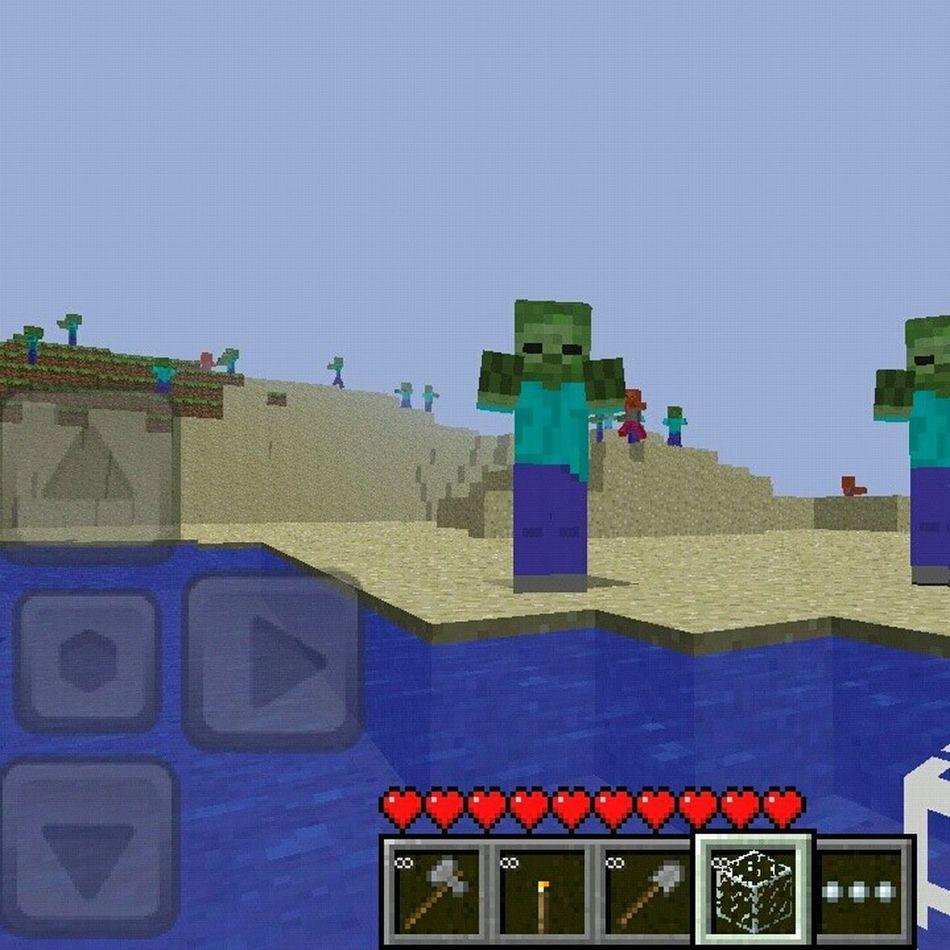 #zombies #mob #minecraft #pe #bored #lol