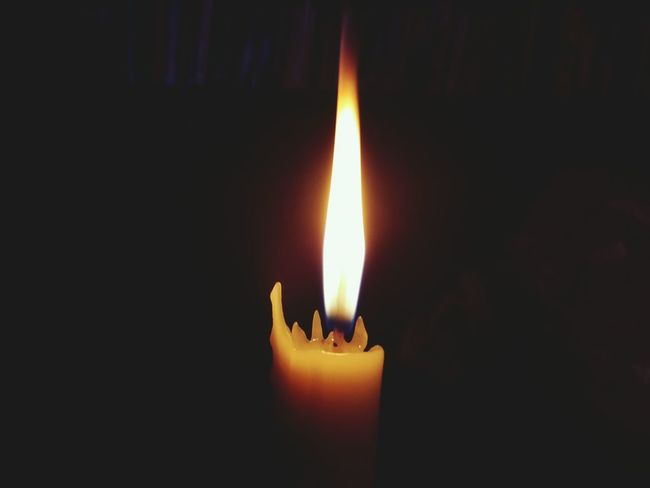 Candle Candlelight Fire