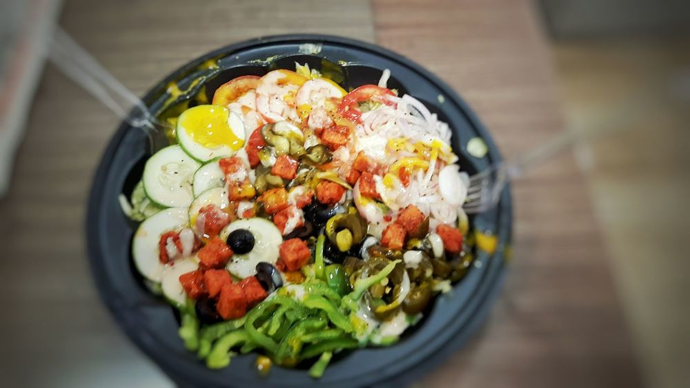 Salad Days Luncheon Healthy Eating Randomshot Foodphotograp Food Collage Chicken Tandoori Foodie Salad Bowl EyeEm Team The Photojournalist - 2016 EyeEm Awards