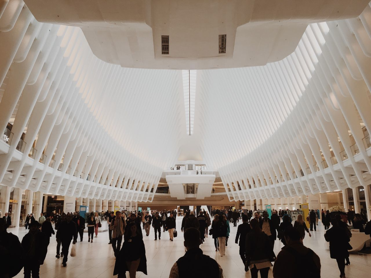 Large Group Of People Real People Architecture WorldTradeCenter NYC NYC Photography Vintage Simmetry