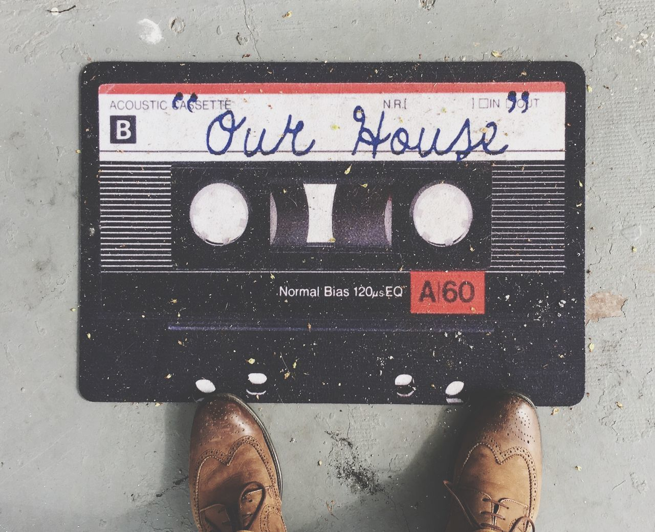 Welcome Home Home Welcome Welcome Mat Cassette Cassettetape Notmine House Home Is Where The Art Is