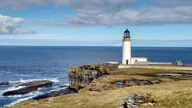 The KIOMI Collection Noup Head Lighthouse Seeing The Sights Orkneyislands