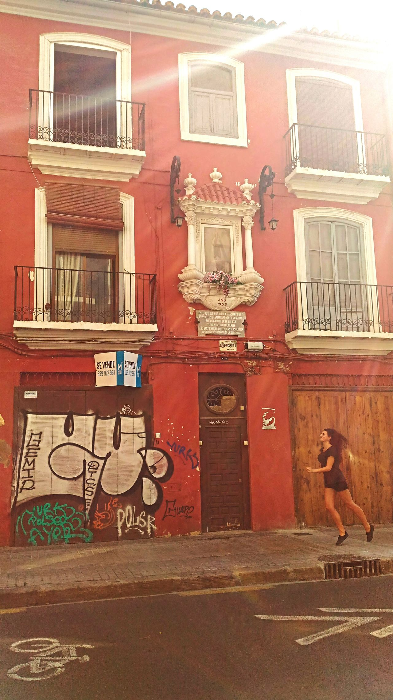 First Eyeem Photo Jumping Red Valencia, Spain