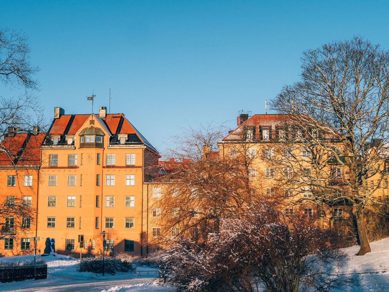 Beautiful stock photos of sweden, Architecture, Bare Tree, Beauty In Nature, Building Exterior