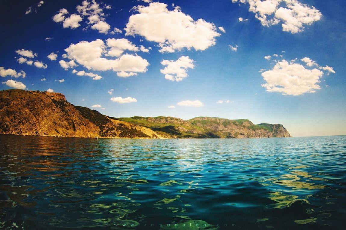 -nearthesea- Sea Seascape Summer Landscape Sky Beautiful Nature Picture Romadalen