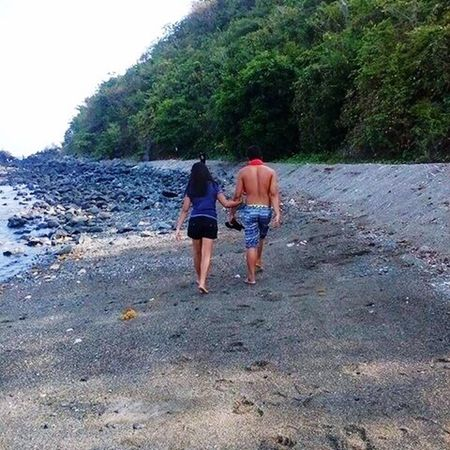 A Walk To Remember with The Man I Gave My Heart To in a Paradise we used to go. Precious Moments Quality Time Love All The Way Married Life Partner In Life