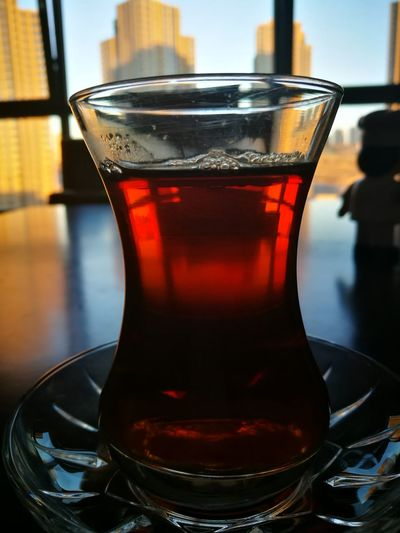 Relaxing Refreshment Food And Drink Drink Table Freshness Indoors  Glass - Material Drinking Glass Transparent Still Life Close-up Tea - Hot Drink Serving Size Hot Drink Focus On Foreground No People Non-alcoholic Beverage Türkiye Turkey Day Nice Atmosphere Turkey Ankara çay