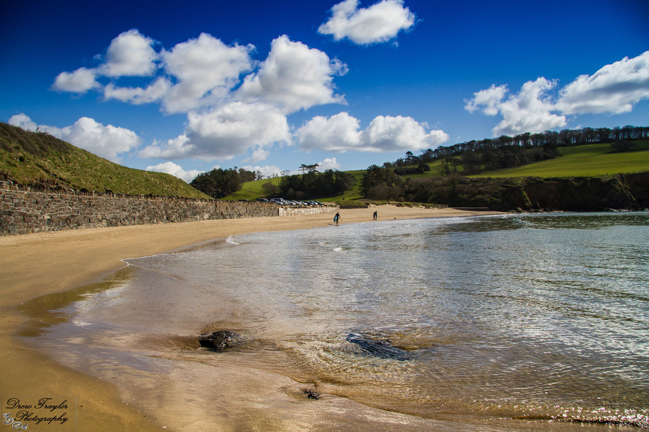 Sand Cloud - Sky Beach Sky Outdoors Summer Nature Day Cornwall Porthluneybeach Caerhayes