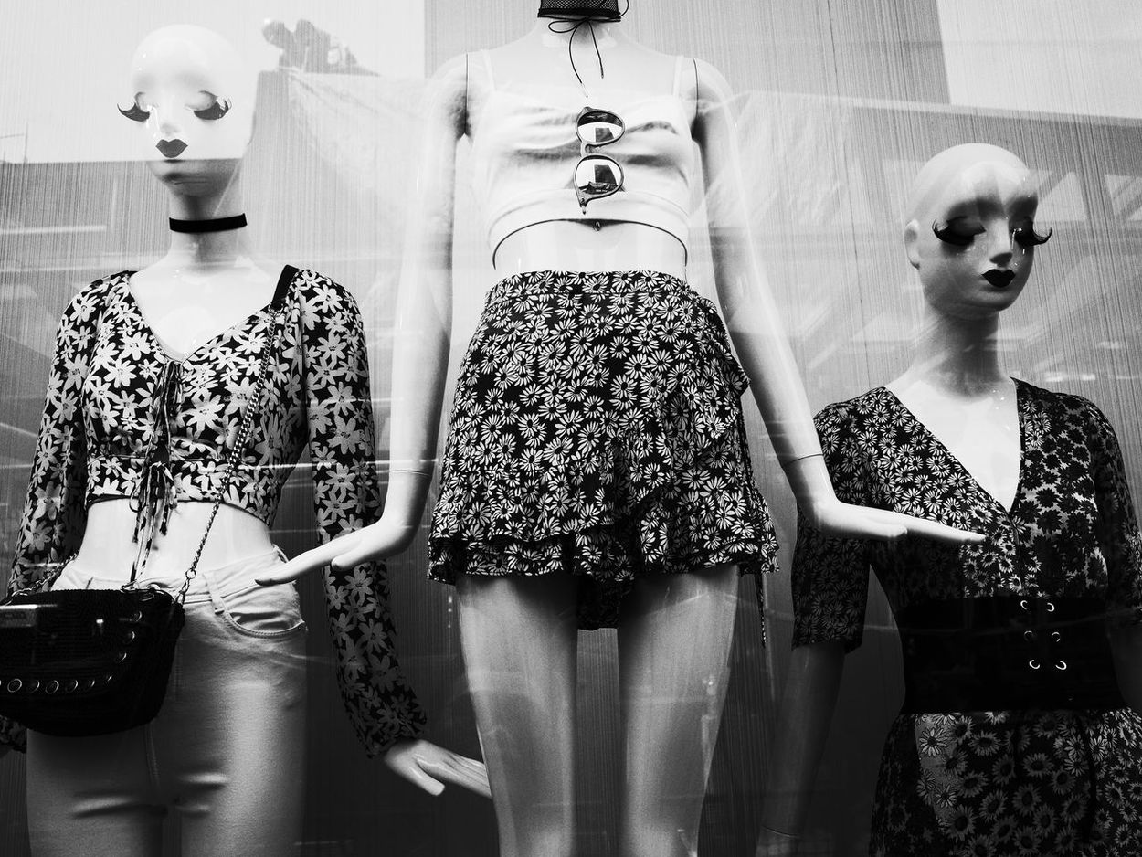 Mannequin Clothing Store Store Retail  Dress Human Representation Fashion Boutique Clothing Indoors  Consumerism Business Day Workshop No People Street Photography Streetmalaysia Streetphoto Streetphotography Ricoh Gr Malaysia