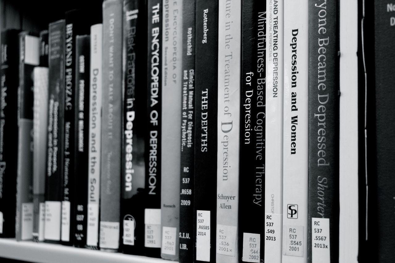 indoors, communication, book, shelf, data, no people, close-up, bookshelf, network server, day