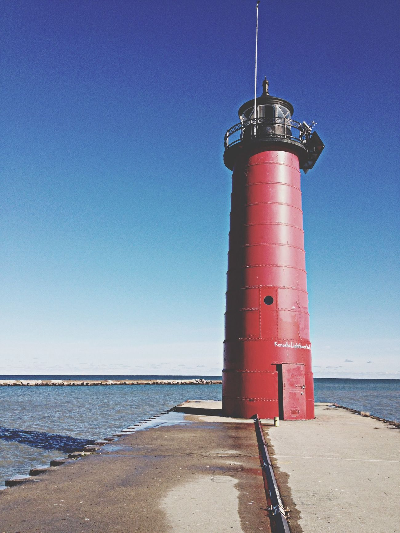 The Explorer - 2014 EyeEm Awards Lighthouse Lake Michigan