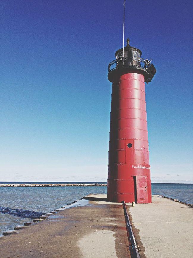 The Explorer - 2014 EyeEm Awards Lighthouse Lake Michigan