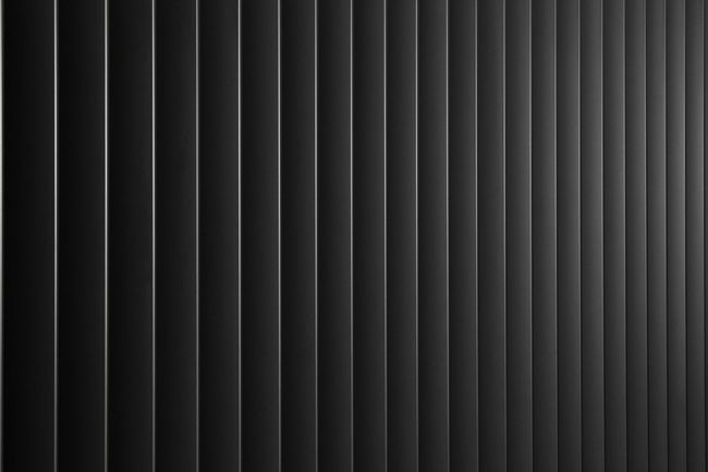 Metal Blinds Vertical Lines Monochrome Grey Metal Detail Background