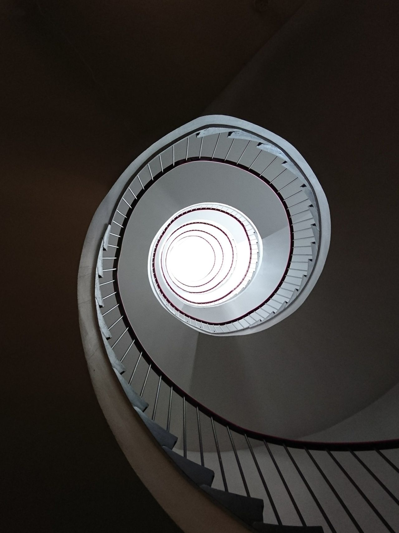 The other side Staircase Steps And Staircases Architecture Spiral Staircase Indoors  Railing Low Angle View No People Steps Built Structure Spiral Close-up Day