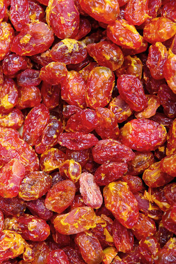 Tomato Snack, Japanese Dried Fruits Japan Japanese  Japanese Food Tomato Snack Abundance Backgrounds Close-up Day Dried Fruit Dried Fruits Food Food And Drink Freshness Full Frame Healthy Eating Indoors  Large Group Of Objects Meat No People Ready-to-eat Red Sweet Food