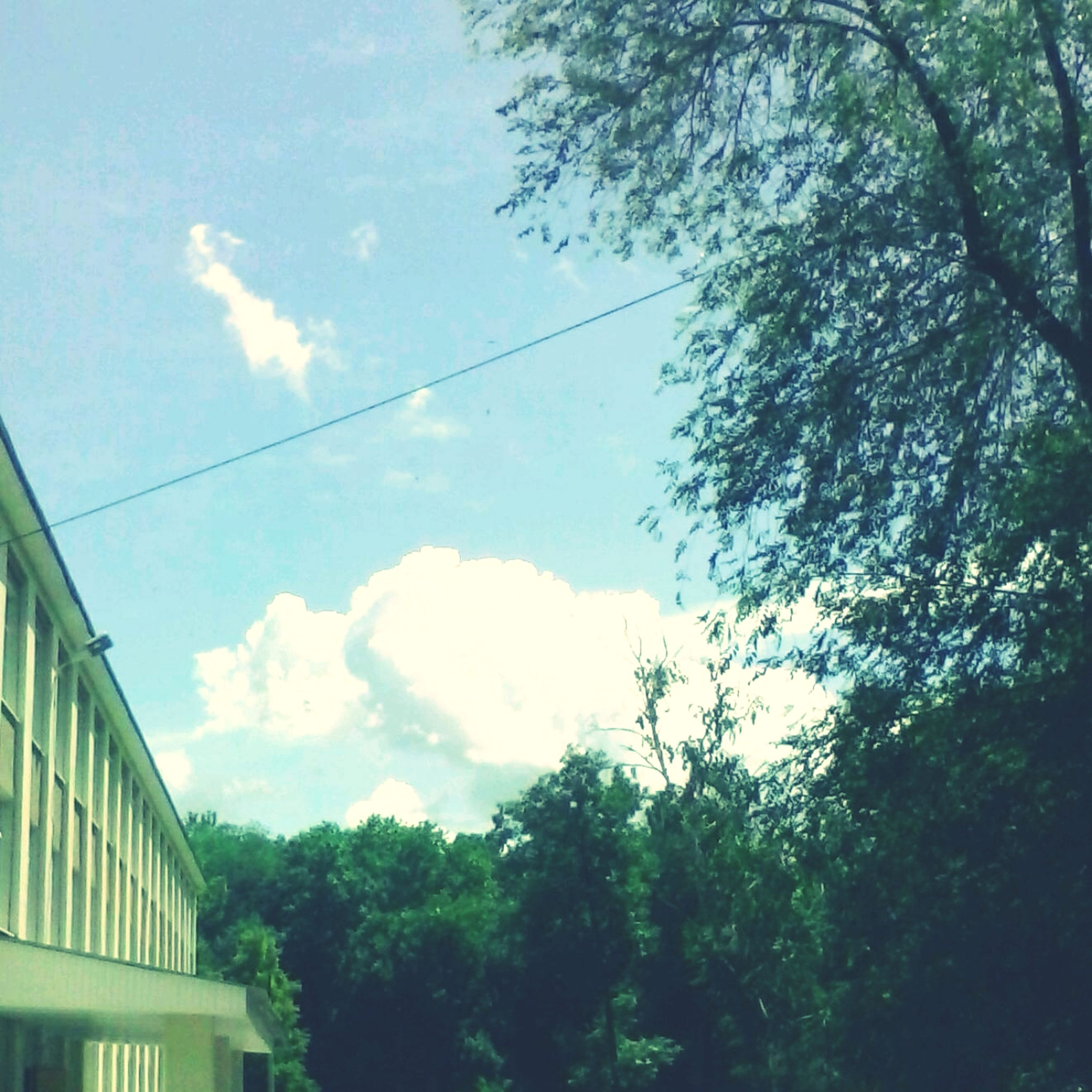 clouds. sunny day :)