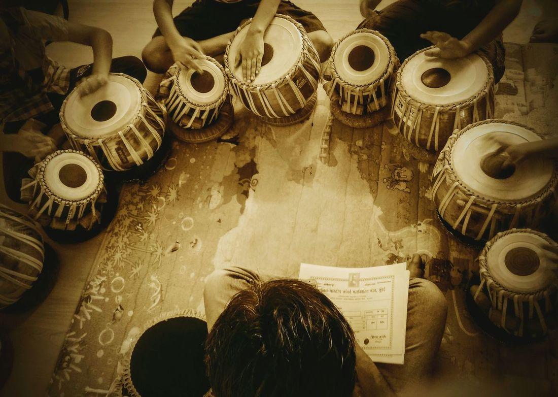 The school of drums... Kids School Here Belongs To Me 📍 from Pune, India