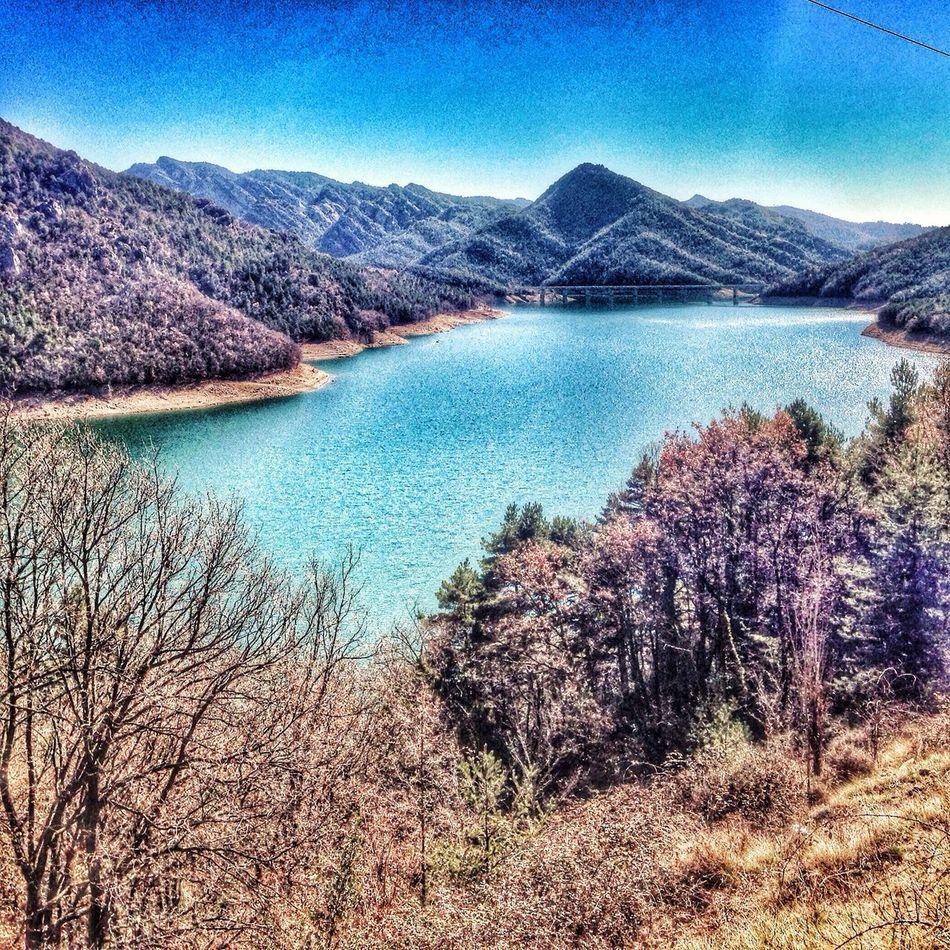 Reservoir of la Baells EyeEm Best Shots - Nature EyeEm Best Shots - HDR EyeEm Best Shots - Landscape Peace And Quiet