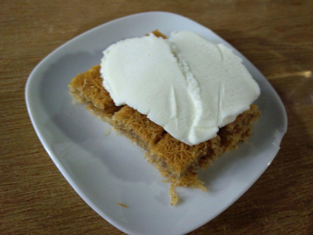 Yenice - çanakkale Kadayıftatlısı Dondurmali