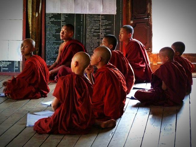 The Color Of School Children Portraits Children Photography Buddhism Buddhist Monks Education Buddhism Culture Classmates School Life  School Day Classroom Moments Classroom Group Of Children Myanmar Myanmarphotos Beautiful Myanmar