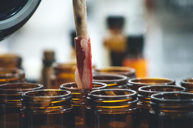 Close-up Day Focus On Foreground Herbal Medicine Indoors  Jars  Medicine Making No People Salve Workshop