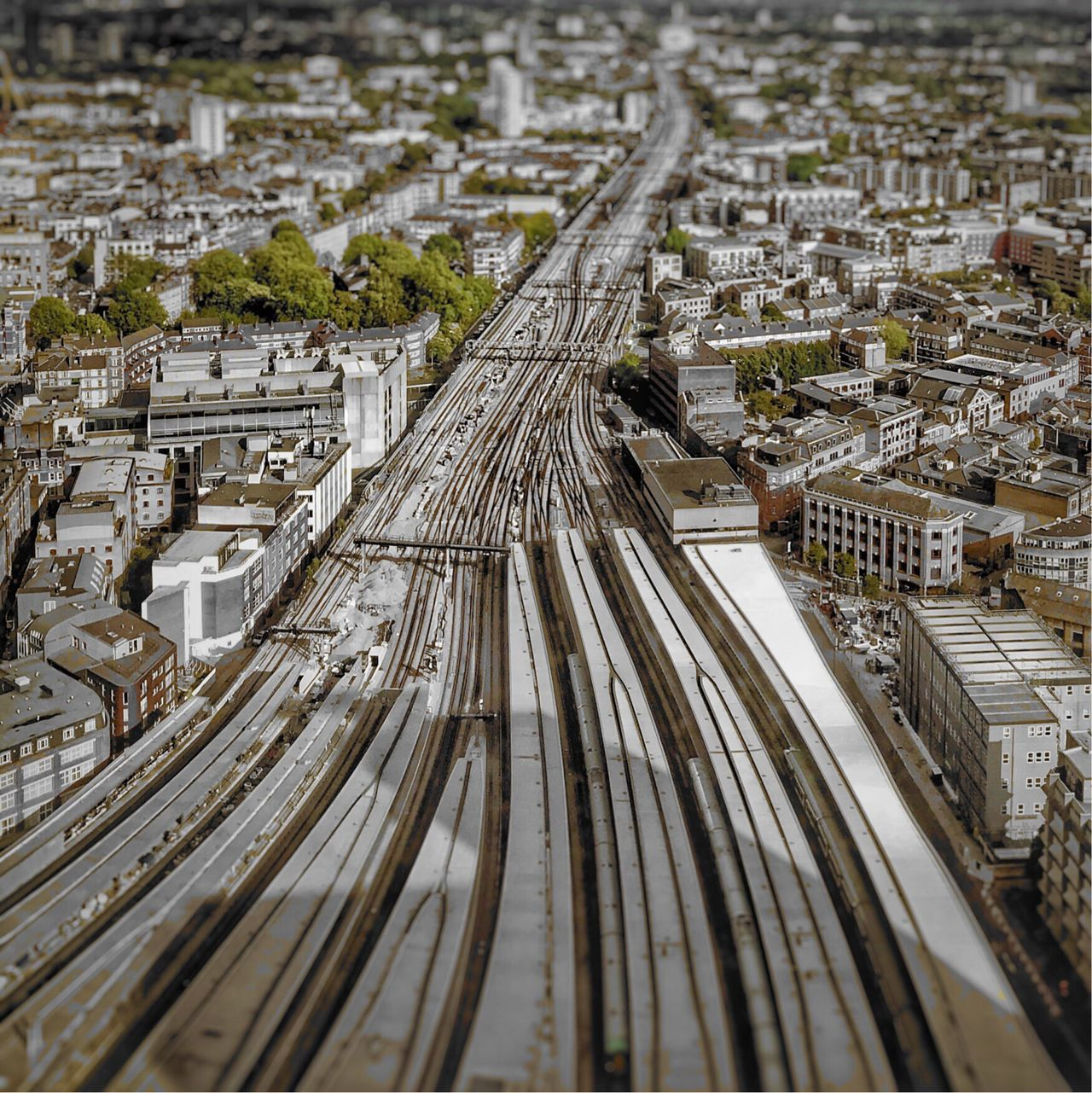 Cityscape Panorama No People City Architecture London Train Station Railway Station London Bridge Station