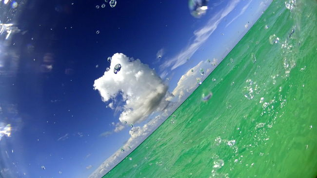Fisheye fantasy Cumulus Cirrus Fisheye Water Beauty In Nature Sea Landscape Cloud Caribbean Seascape Ocean Panoramic Travel Cuban Scenics Vacations Beach Sony Tourist Resort Santa Maria Cuba
