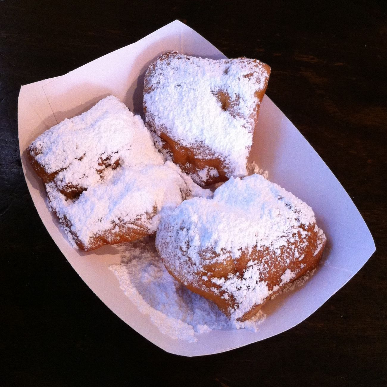 No better way to start a day than with beignets!