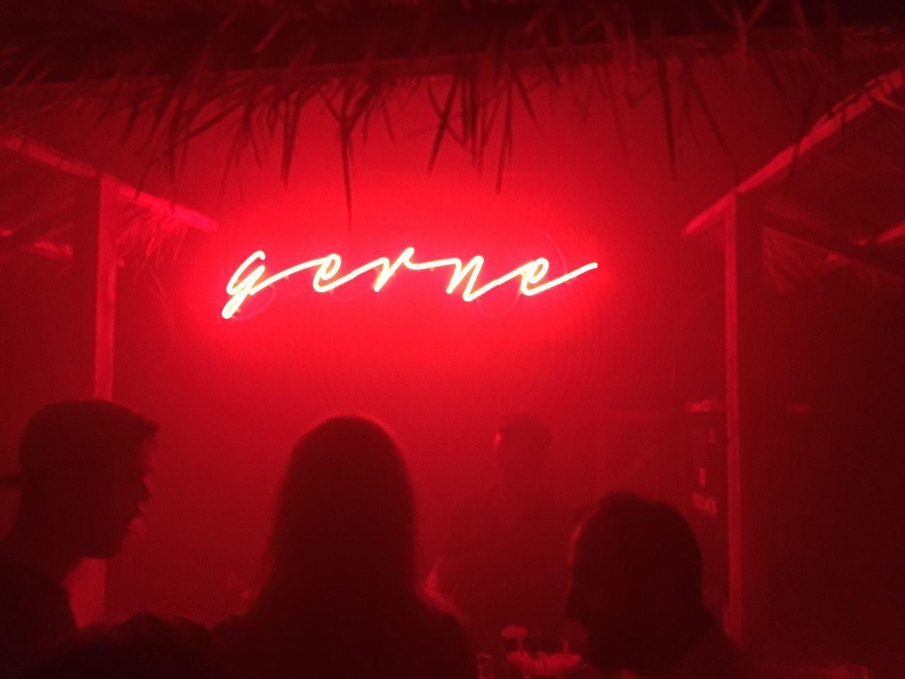 illuminated, communication, text, night, red, indoors, lighting equipment, nightlife, nightclub, neon, real people, close-up