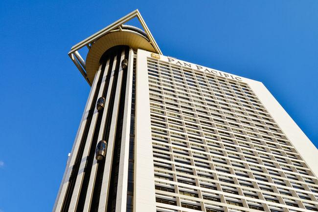 Singapore Pan Pacific Hotel Singapore Hotel Pan Pacific Marina Travel Architecture Exterior Façade