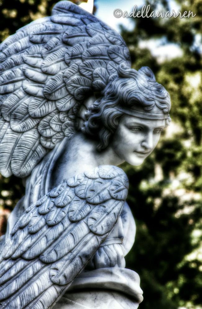 Eternal Peace Rest In Peace Cemetery Photography Angels