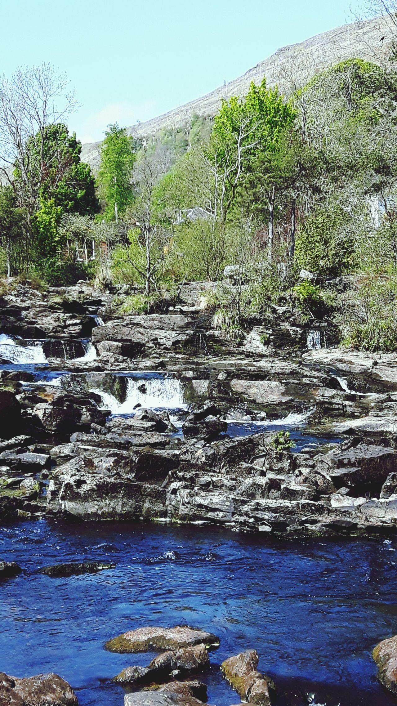 The Great Outdoors - 2017 EyeEm Awards Water Outdoors Nature Waterfalls Springtime Scotland.