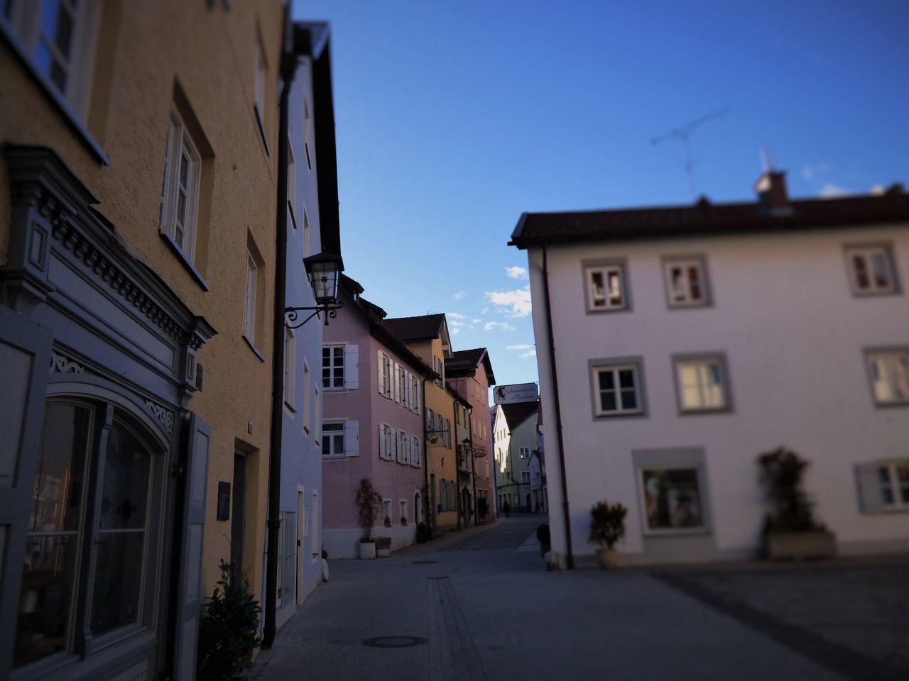 Architecture Built Structure City Façade Füssen, Bayern, Deutschland Holidays House Oldtown Pastel Colors Pastel Power Street Travelling