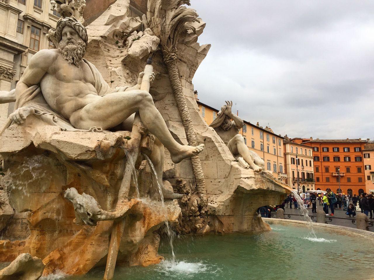 Piazza Navona Rome Rome Italy Piazza Navona Art First Eyeem Photo