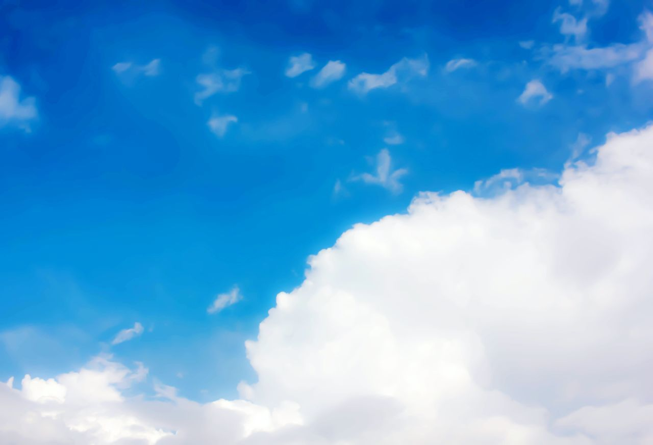 Cloud and blue sky Shades Of The Sky Skyandclouds  Cloudy Day Cloudy Sky Backgrounddefocus Backgrounds Sky No People Abstract Defocused