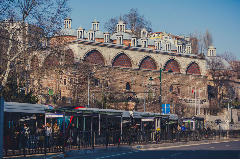 View from Tophane Europe History Istanbul Kılıç Ali Paşa Camii Kılıçalipaşacamii Ottoman Empire Street Tophane Tophane-i Amire Tophanecamii TophaneiAmire Turkey Türkei Türkiye