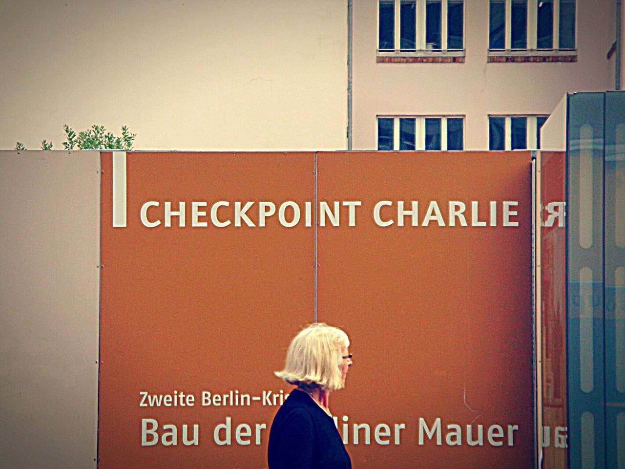 Capture Berlin Checkpointcharlie Text Real People Women Choice Variation One Person Human Body Part Human Hand Indoors  Architecture Day People Berlin Germany Waiting Game